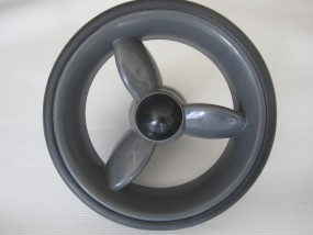 Hinterrad, Rad für Babywelt Buggy Moon Kiss, Flac, Flic und Fit bis 2012 Farbe: anthrazit-grau (mud)