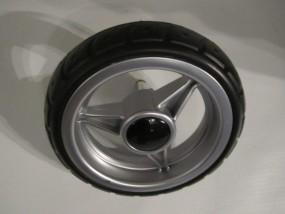 Hinterrad, Rad für Gesslein Buggy Swift Farbe: silber