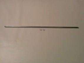 Hartan Achse, Achsstab für Wipmatic Achseinheit - 595mm Länge