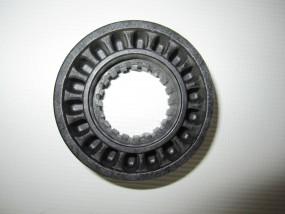 Bremskranz für Teutonia Räder mit Handbremse in der Mitte des Schiebergriffs von 2006-2008 -schwarz