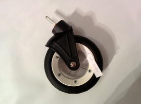 Rad, Vorderrad mit Gabel für Hartan Kinderwagen VIP, neue Version Farbe: weiß