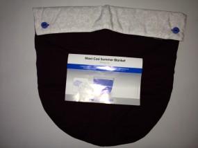 Maxi-Cosi Pebble Windschutzdecke, Beindecke Farbe: weinrot
