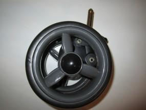 Vorderrad, Vorderradblock, Block für Babywelt Buggy Moon Fit und Flic bis 2012 Farbe: anthrazit-grau