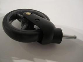 Vorderrad, Rad für Babywelt Buggy Moon Kiss, Flac, Flic und Fit bis 2012 Farbe: anthrazit-grau (mud)