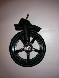 Hartan Topline S, Racer GT, Sky und SkyXL Vorderrad, Crossfelge - mit gefederter Gabel - schwarz