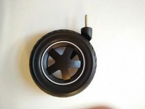 Maxi-Cosi Mura Vorderrad mit Gabel, Luftkammerrad rechte Seite Farbe: schwarz