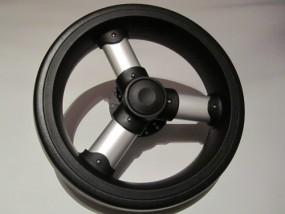 Herlag Ancona Rad Farbe: silber, schwarz