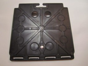 Teutonia Sitzplatte, Kunststoffplatte für Sitzfläche für Kinderwagen z.B. Mistral S