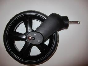 Babywelt Vorderrad, Vorderradblock Twin Zwillingskinderwagen Farbe: schwarz