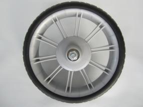 Rad 50 (250mm Durchmesser), Rad, Vorderrad Teutonia Team Alu S4, Spirit S3, Team Cosmo (Zwilling)