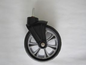 Rad, Vorderrad mit Gabel,Trendfelge für Hartan VIP- neue Version, Farbe: silber