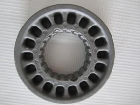 Bremskranz für Teutonia Räder mit Handbremse in der Mitte des Schiebergriffs ab 2009-aktuell - grau