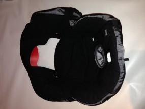 Maxi-Cosi Sitzbezug, Stoff, Bezug, Ersatzbezug, Sitzeinhang für Kinderautositz Tobi black reflection