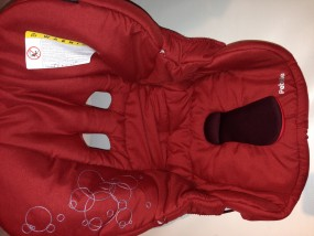 Maxi-Cosi Sitzbezug, Stoff, Bezug, Ersatzbezug, Sitzeinhang Kinderautositz Pebble ruby red
