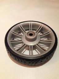 Rad 50 (190mm), Rad, Vorderrad (klein) Teutonia Kinderwagen Mistral S, Fun, Cosmo, Lambda silber