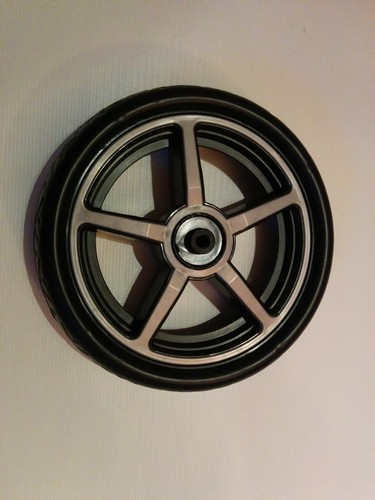 1 x Rad, Vorderrad, Crossfelge für Hartan Topline S, Racer GT, Sky, Xperia, ZXII, Sprint, R1 alt bis 2013 - Farbe: silber