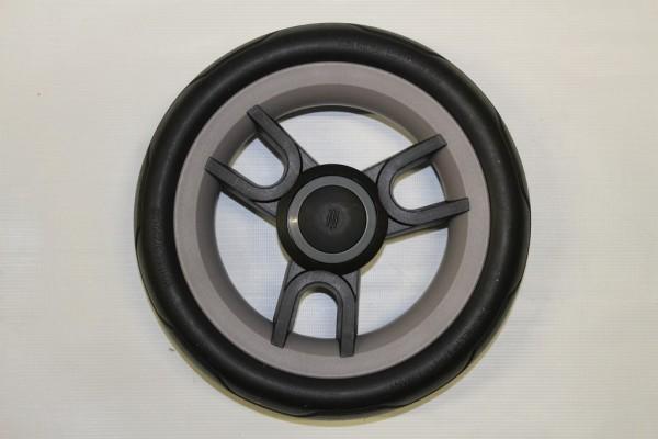 1x Teutonia Rad 3 - schwarz-grau - 250 mm - für alle Cosmo, Fenix, Fun und Lambda - mit Handbremse