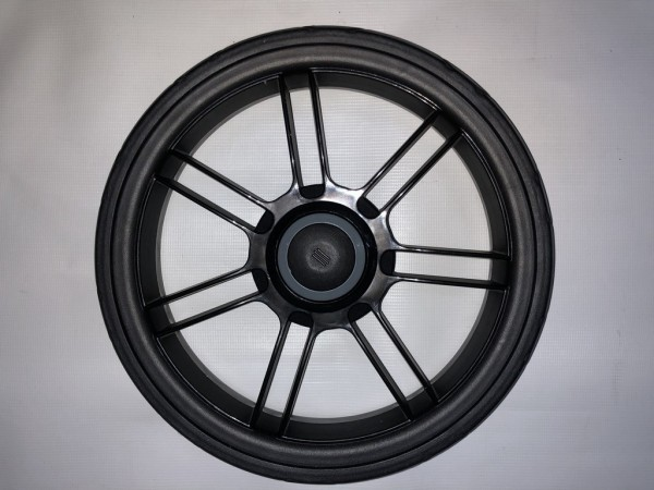 Nutzen Sie Ihren Bremskranz: Teutonia Rad 7 - 290 mm - schwarz - ohne Bremskranz, aber umbaubar für BeYou / Elite, Mistral S/P, Liv, Quadro