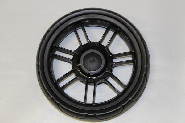 1 x Teutonia Rad 7 - 250 mm - schwarz - für alle Cosmo, Fenix, Fun und Lambda - ohne Handbremse