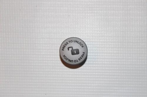 BeYou und Mistral S/P Knopf / Kappe für Feststellbremse oben am Bremshebel / Griff - grau