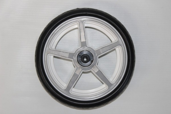 1 x Rad, Vorderrad, Crossfelge für Hartan Topline S, Racer GT, Sky, Xperia, R1, ZXII, Sprint alt bis 2013 - Farbe: weiß