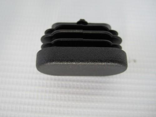 1 x Abdeckkappe, Abdeckung, Rohrendstopfen - oval ohne Loch - für Teutonia Mistral S, Mistral P, Quadro