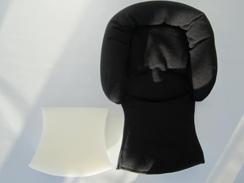 maxi cosi polster sitzeinlage sitzverkleinerer f babyschale cabriofix farbe schwarz. Black Bedroom Furniture Sets. Home Design Ideas
