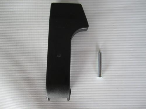 1x Trittplatte, Klapparretierung, Sicherheitsarretierung, Fangsicherung für Teutonia Kinderwagen