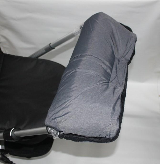 1x universal muff handmuff handw rmer f r den schiebergriff vom kinderwagen teutonia abc. Black Bedroom Furniture Sets. Home Design Ideas