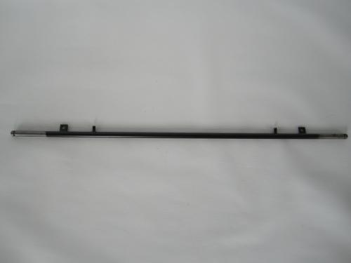 1 x Achse, Hinterachse für Teutonia Kinderwagen Mistral, Mistral S alt bis 2013, Mistral P, Primus - schwarz - ca. 60,0 cm