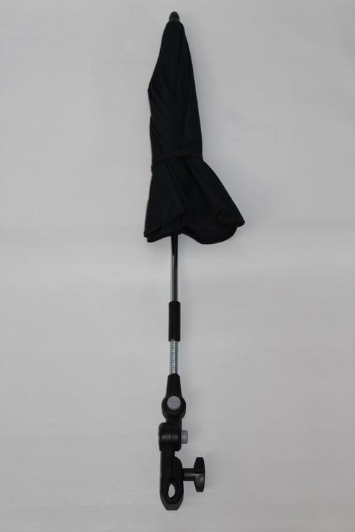 1x hartan sonnenschirm schirm inkl halterung farbe marine blau glatt mit einem beigen. Black Bedroom Furniture Sets. Home Design Ideas