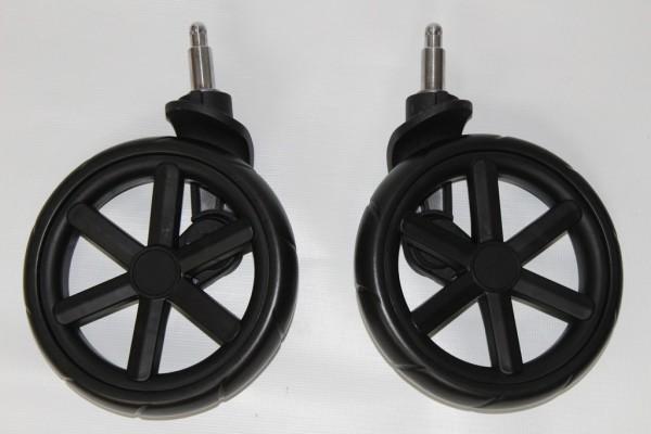 Set Räder,2 x Rad,Vorderrad mit Gabel ABC Turbo 4, Salsa, Condor 4 - schwarz - Ausf. ab 2016 - evtl. mit kl.Kratzern