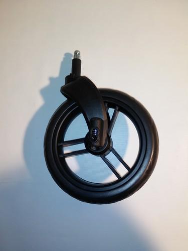 Set - Rad/Räder, 2 x Vorderrad mit Gabel für ABC Turbo 4S,Condor 4S - schwarz - Ausführung ab 2014
