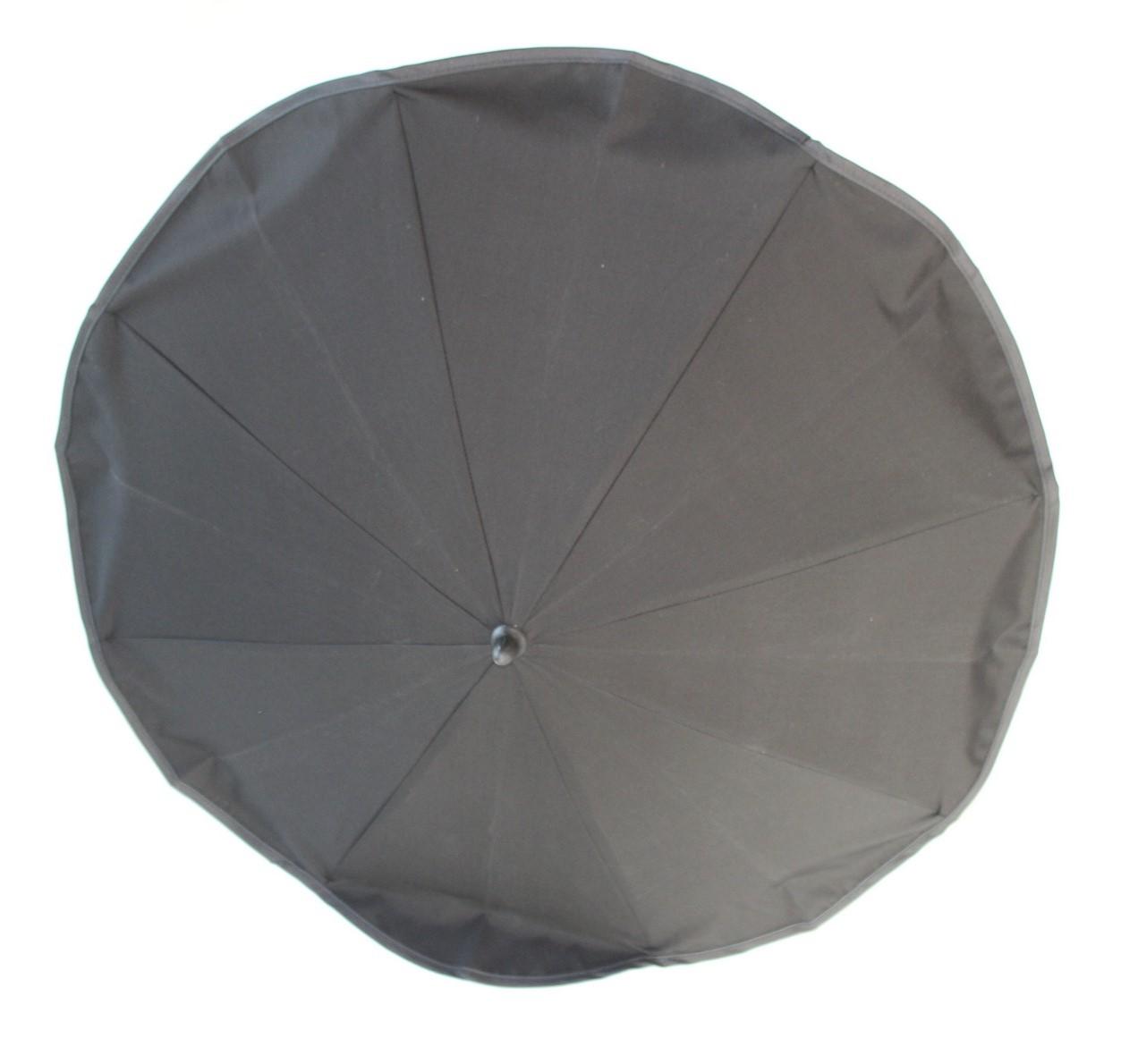 1x original hesba sonnenschirm schirm inkl halterung farbe schwarz 950 auch passend f r. Black Bedroom Furniture Sets. Home Design Ideas