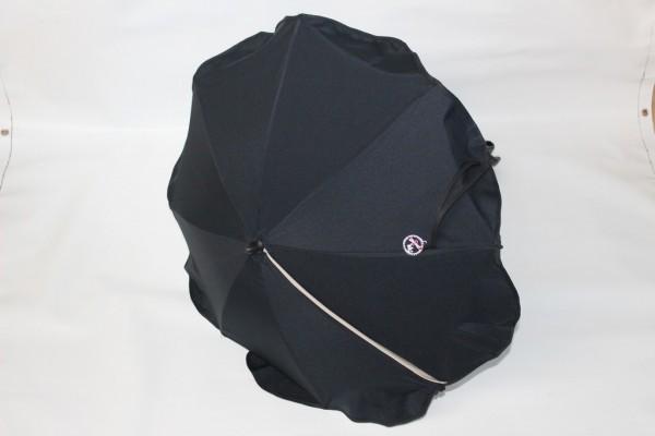 1x Hartan Sonnenschirm Schirm Inkl Halterung Farbe Marine Blau