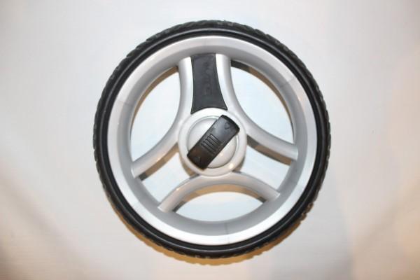 1x Teutonia Rad 60 - 250 mm - hellgrau - für alle Cosmo, Fenix, Fun, Fun System, Lambda - ohne Handbremse