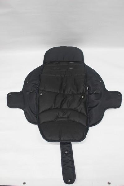 1 x Hartan Bezug, Sitzbezug, Sitzeinhang, Stoffbezug für Sportwagenaufsatz, Sportsitz alt bis 2013 vom Topline, Racer, Skater, Xperia, R1, Vip, Sprint - Farbe: schwarz, 700