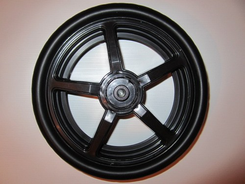 1 x Rad, Vorderrad, Crossfelge für Hartan Topline S, Racer GT, Sky, Xperia, R1, ZXII, Sprint alt bis 2013 - Farbe: schwarz
