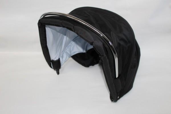 Hesba Condor Coupé Verdeck - außen schwarz 960, innen weiß / Streifen marine
