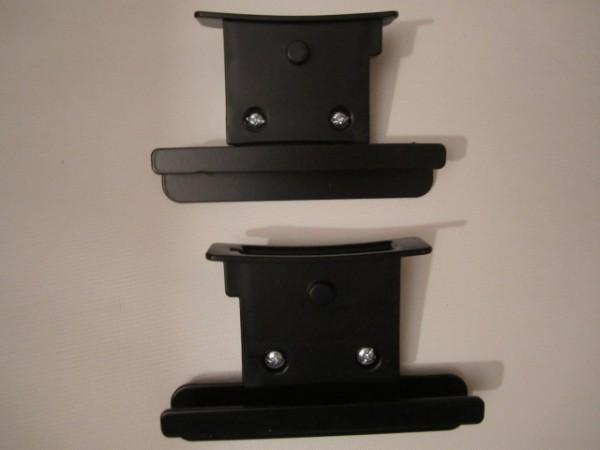 Set Adapter für Teutonia Mistral S, Mistral P u.Quadro für Römer Babysafe SHR, SHRII Babyschale, Autositz von 2009 bis 2011