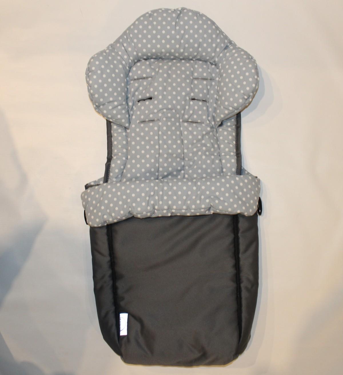 vorf hrmodell 1x kleiner teutonia fu sack inkl verkleinerer f r die babyschale und. Black Bedroom Furniture Sets. Home Design Ideas