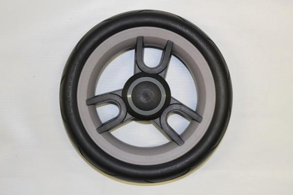 Teutonia - 1x Hinterrad 250mm, Rad 3 - für alle Cosmo, Fenix, Fun und Lambda - ohne HB - schwarz, grau