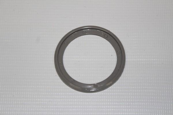 1x Teutonia BeYou grauer Ring, Einfassung für schwarze Abdeckkappe vom Untergestell