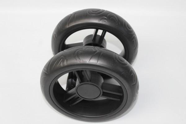 1x ABC Turbo 6S Rad, Condor 6S, Vorderradblock - Farbe: schwarz - 2009 bis 2015