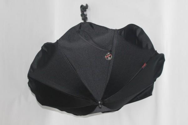 1x Hartan Sonnenschirm Schirm Inkl Halterung Farbe Schwarz 700